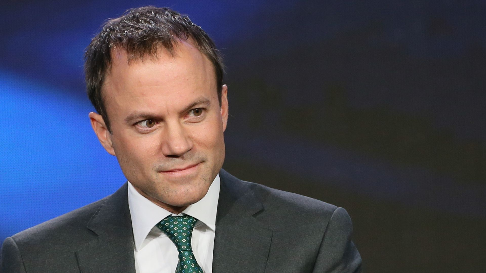 David Rhodes speaks onstage during the 2015 Winter TCA Tour.