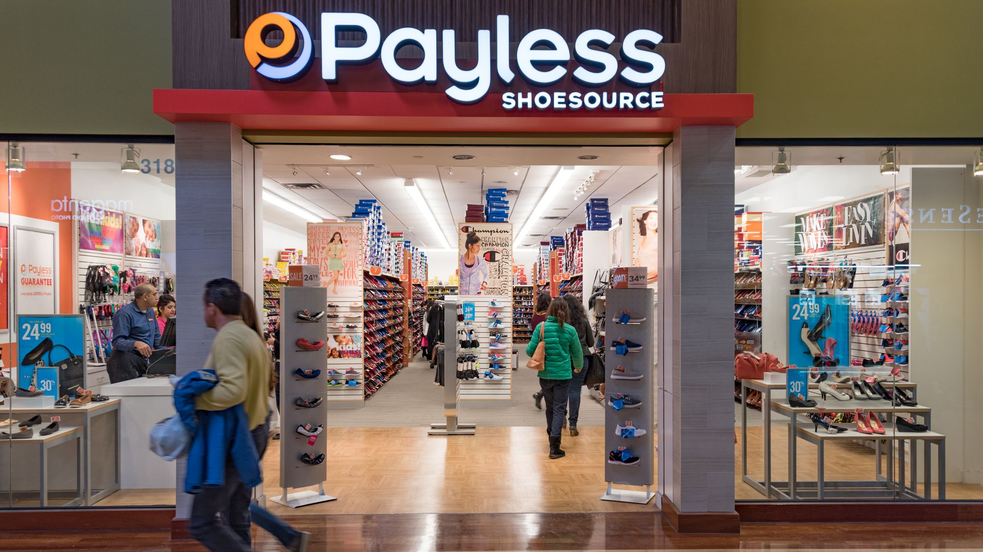 Discount shoe store Payless will shutter all 2,100 U.S. stores