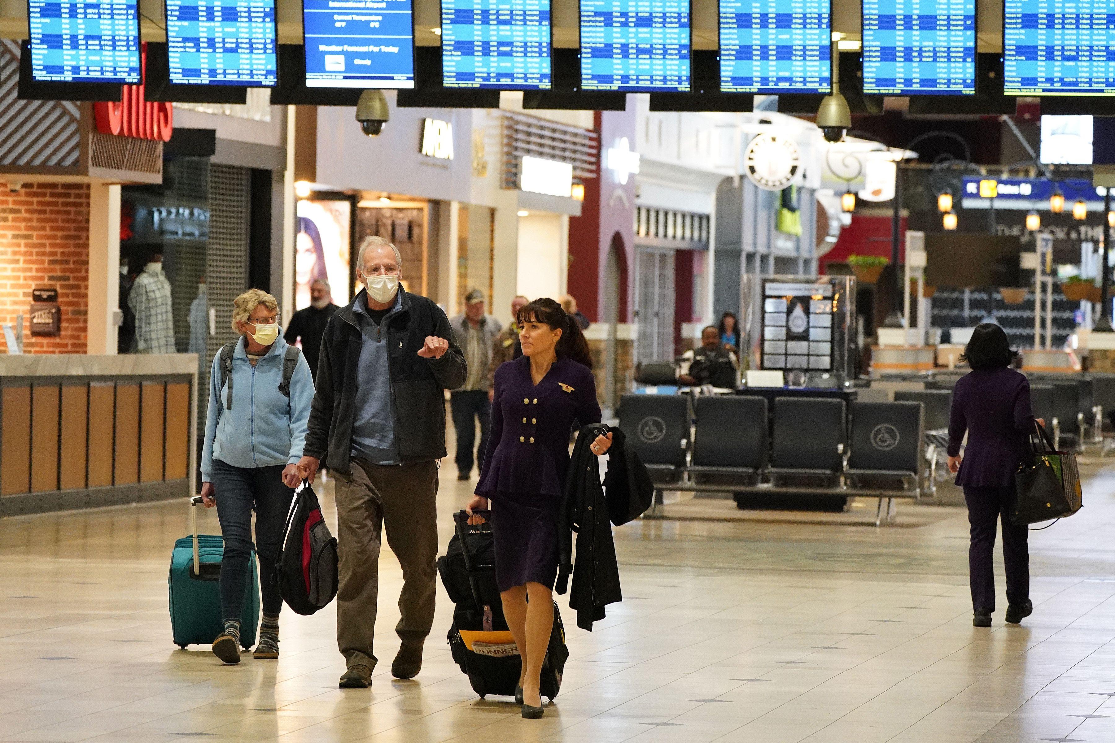 DOT won't enforce cash refunds for flights canceled by coronavirus