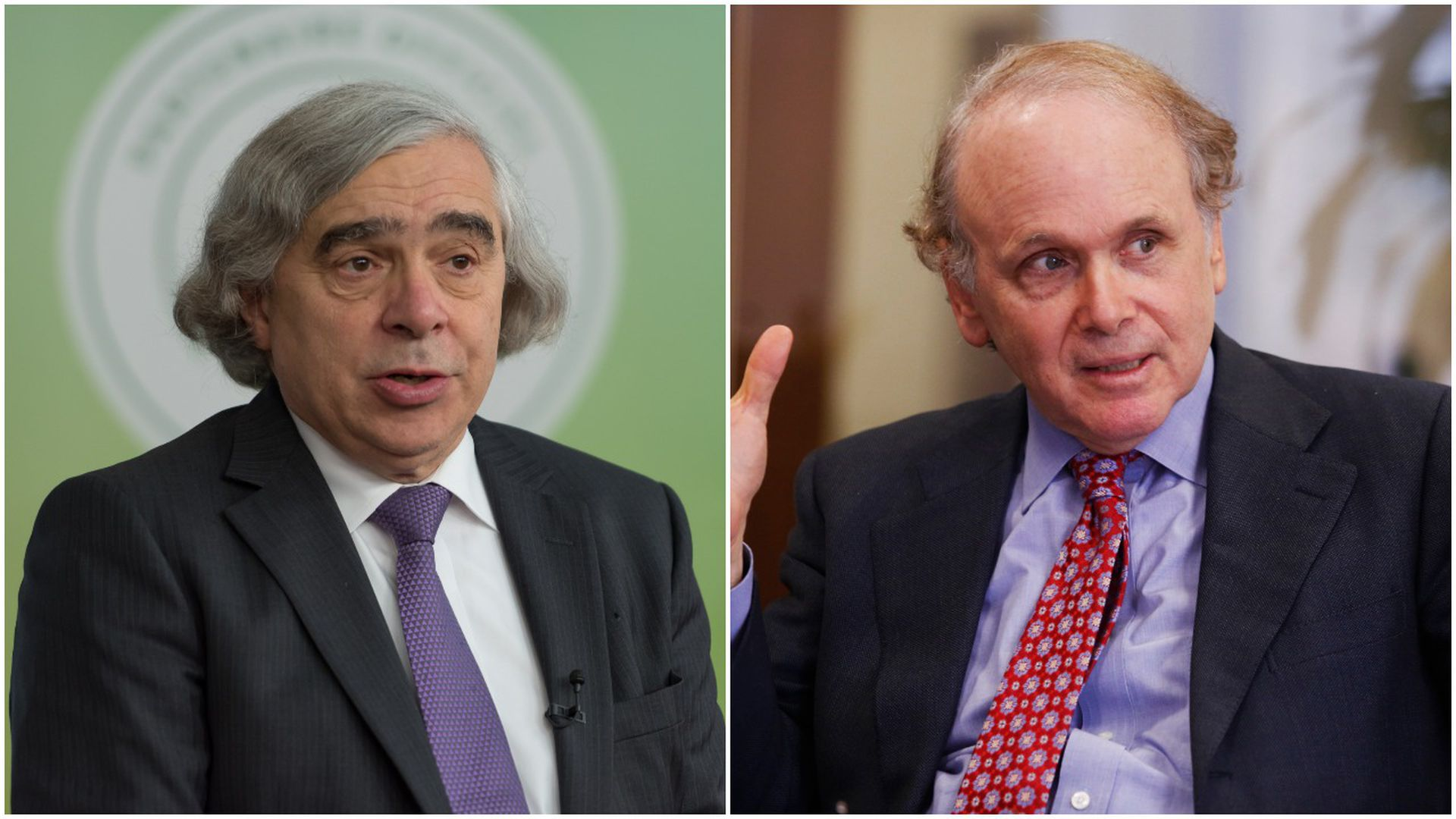 Ernez Moniz and Dan Yergin