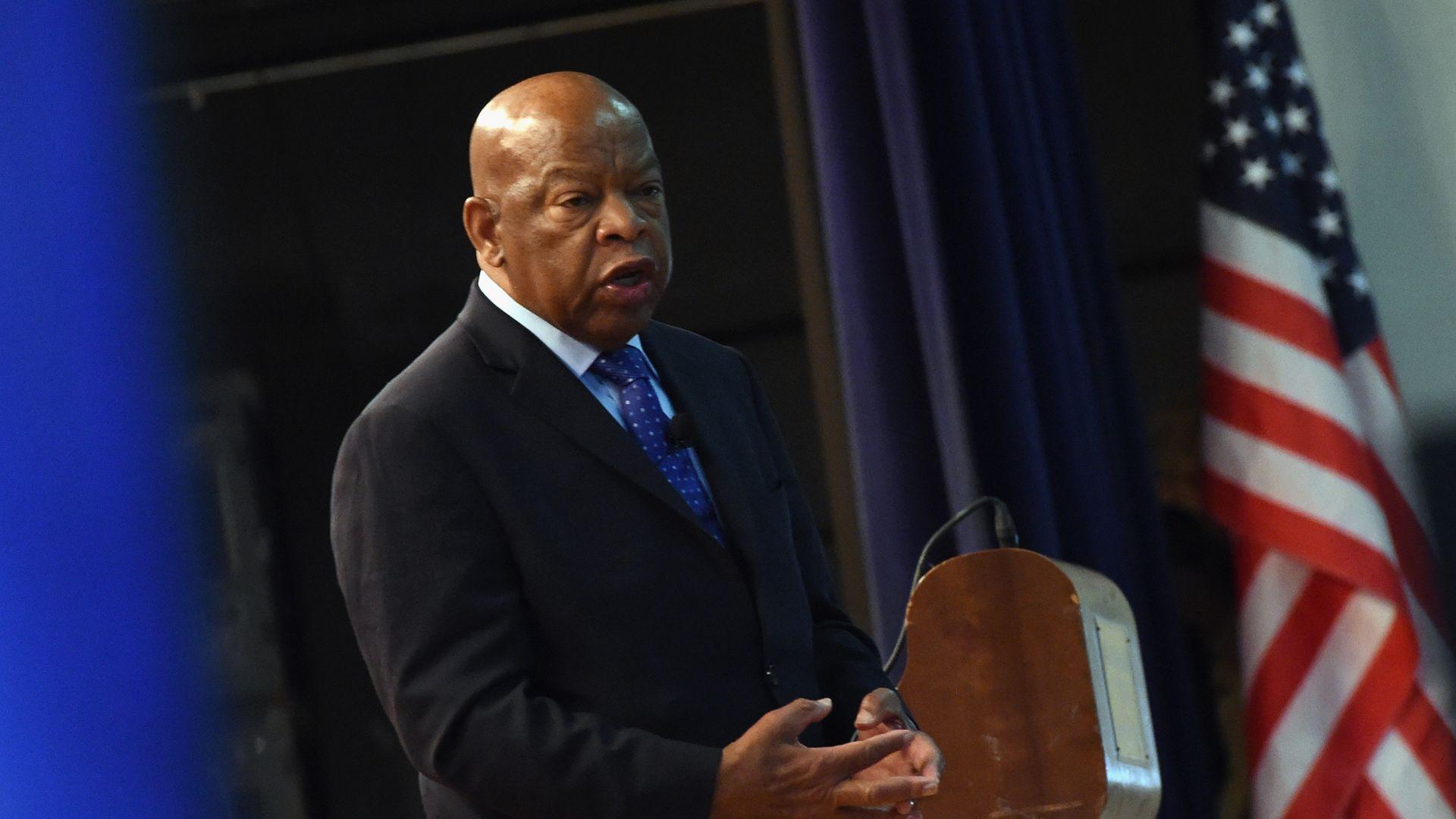 Civil rights icon Rep. John Lewis endorses impeachment proceedings