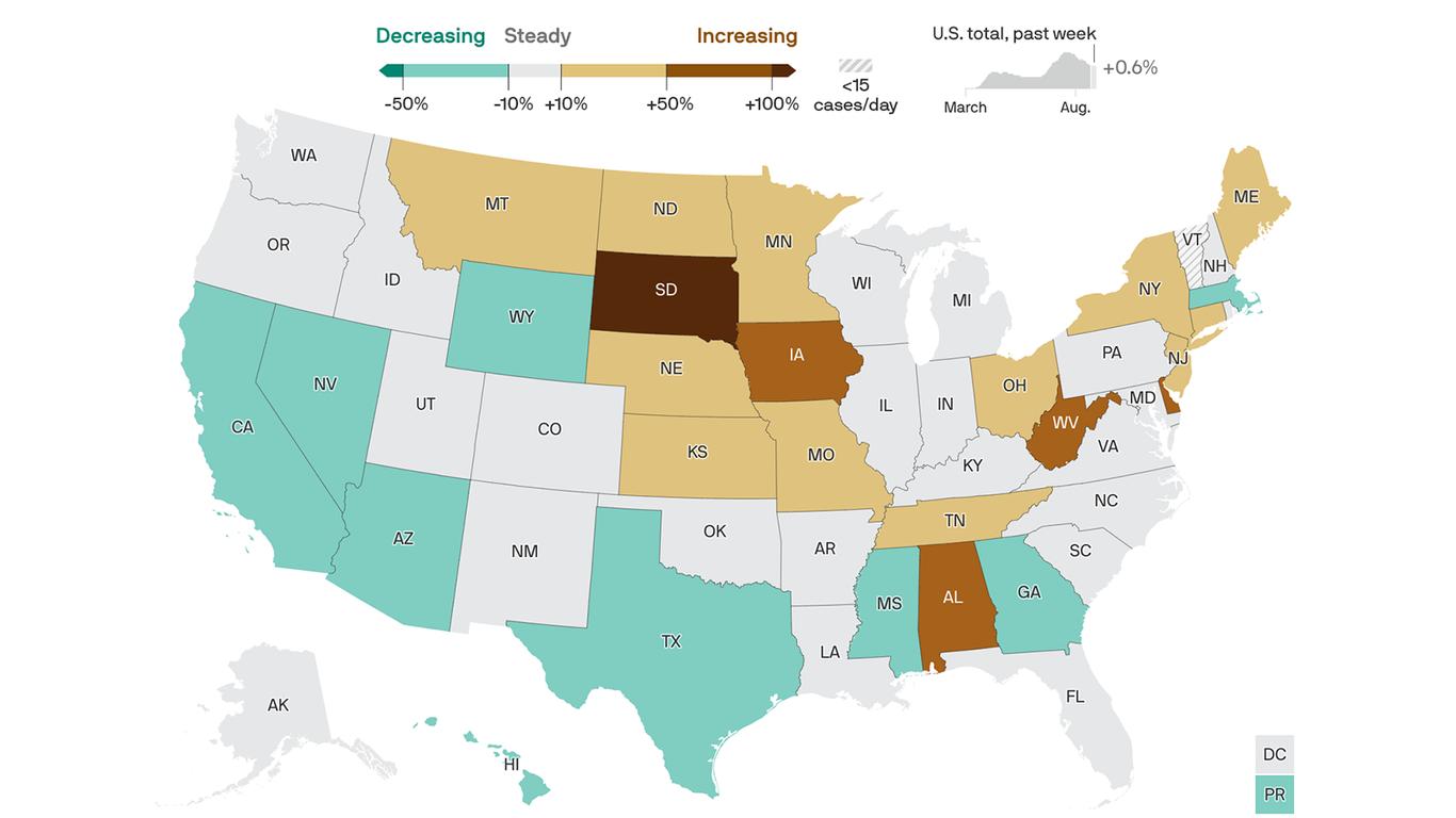 America's progress against the coronavirus has stalled thumbnail