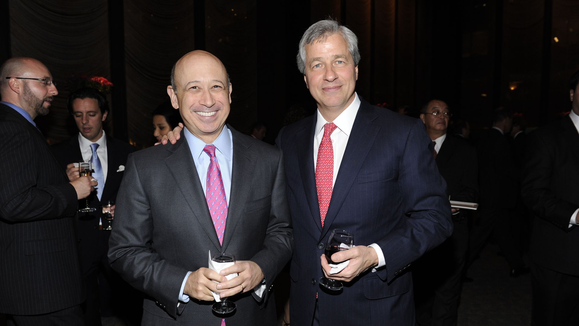 Dimon and Blankfein