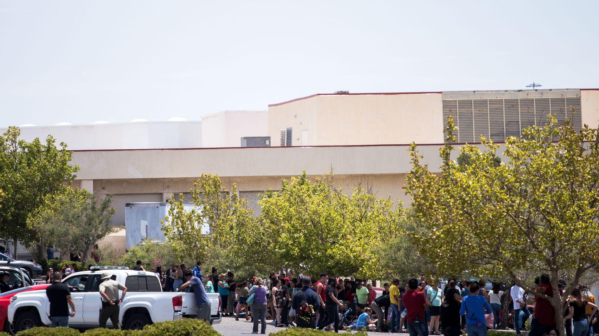 El Paso Walmart shooting impact — in photos - Axios
