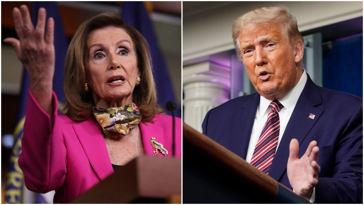 Democrats demand Trump release his tax returns after explosive NYT report