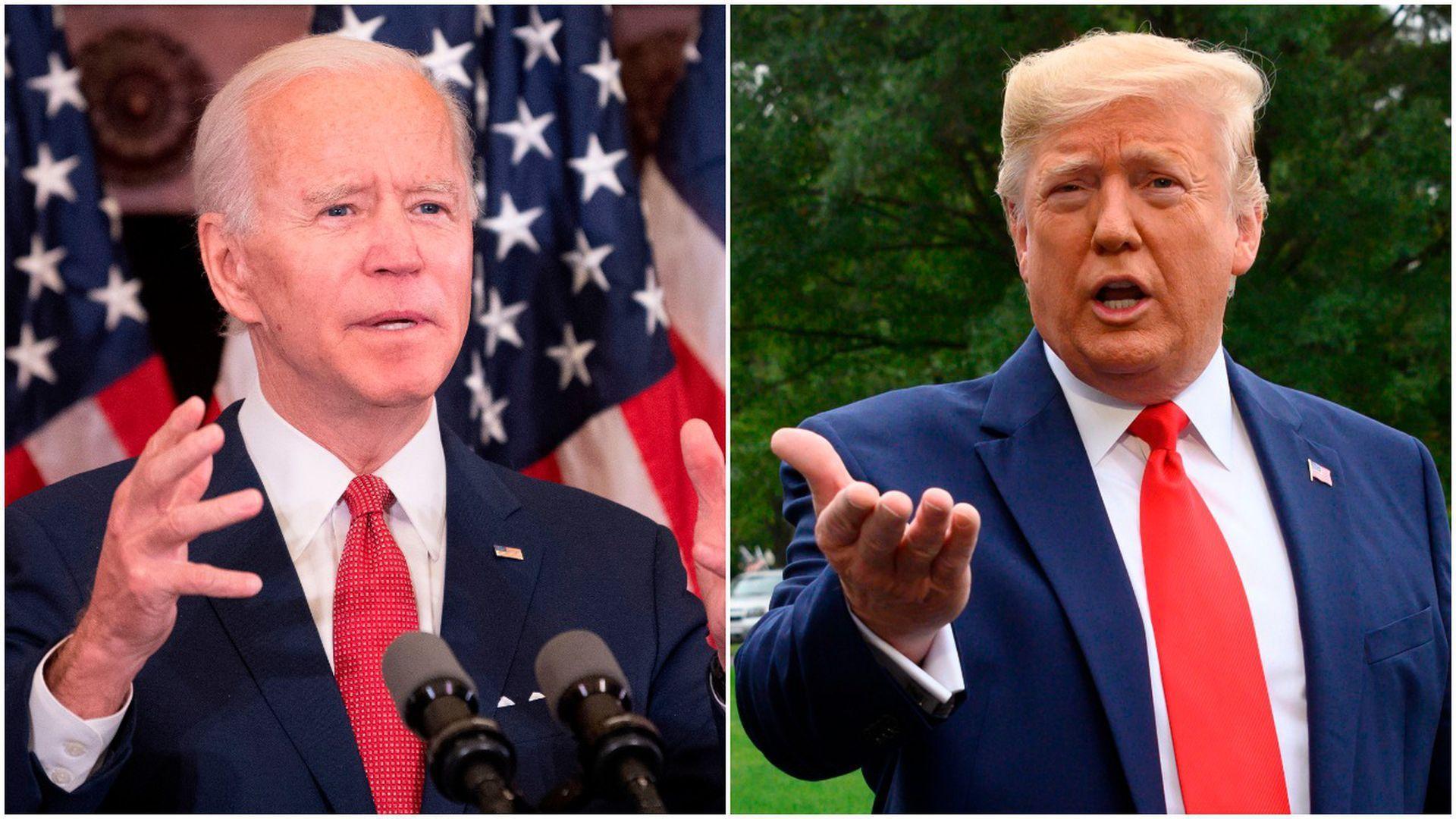 Trump vs. Biden: Senility becomes 2020 flashpoint - Axios