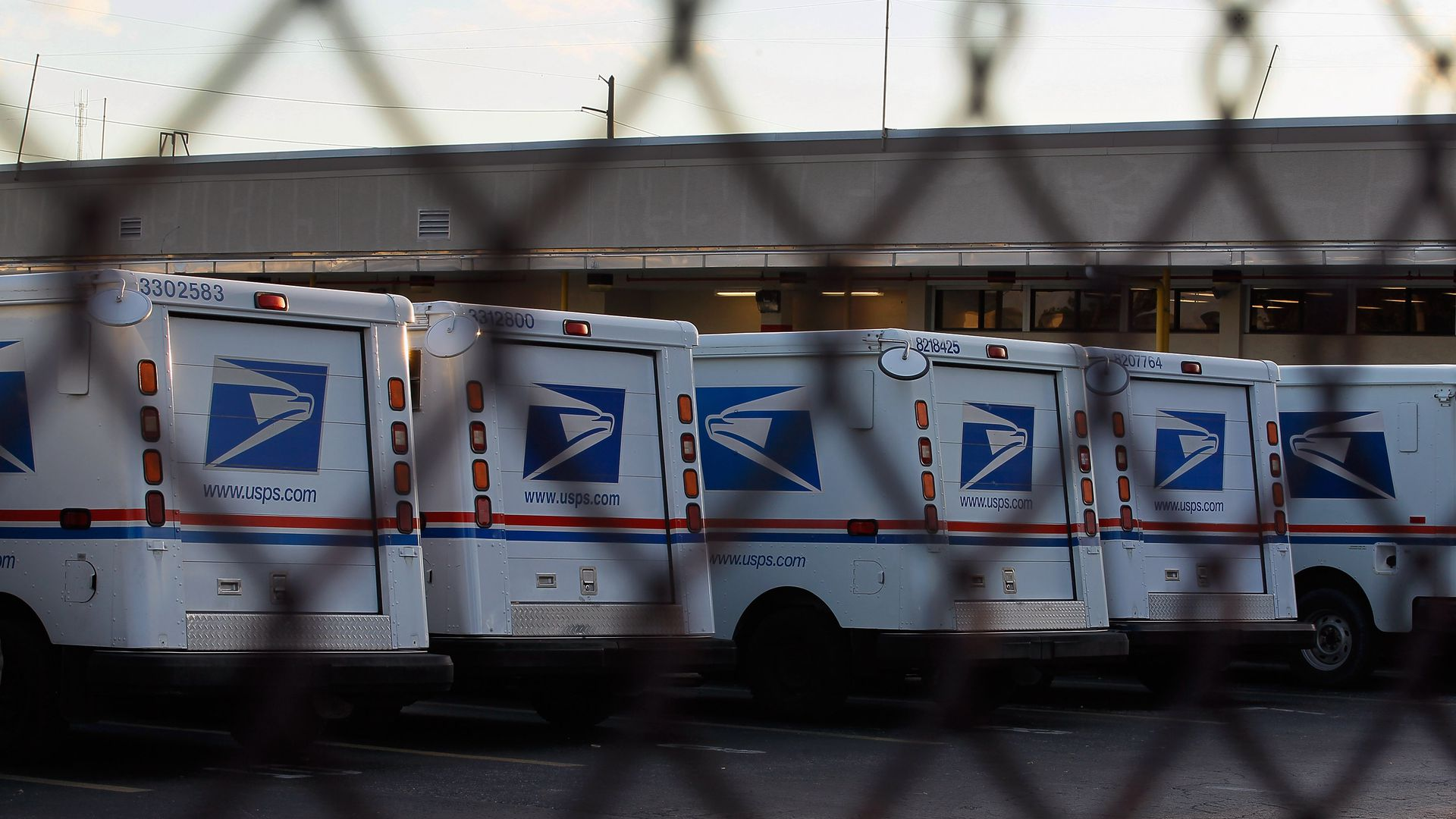 Postal service vehicles