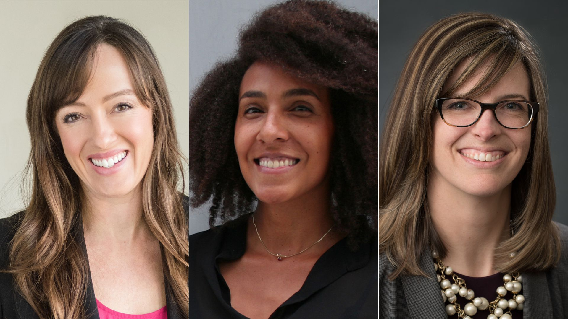Three female executives