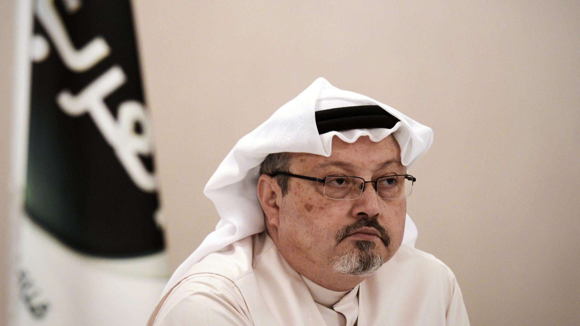 Slain journalist Jamal Khashoggi.