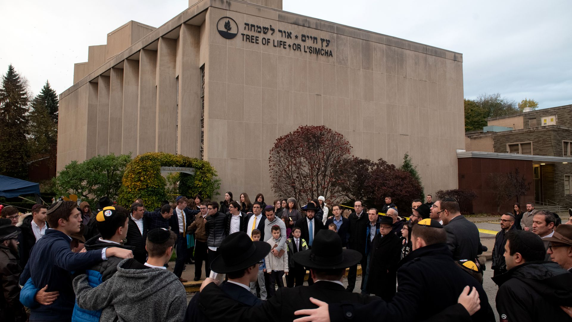 Tree of Life synagogue in Pittsburgh