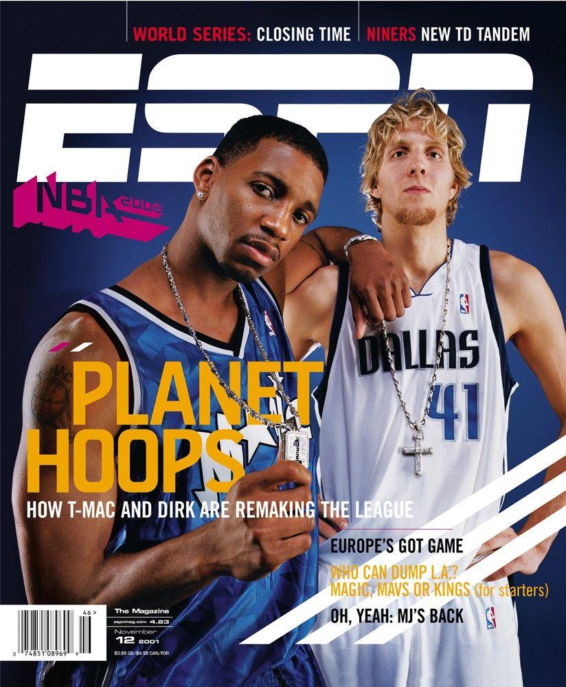 ESPN Magazine cover, 2001