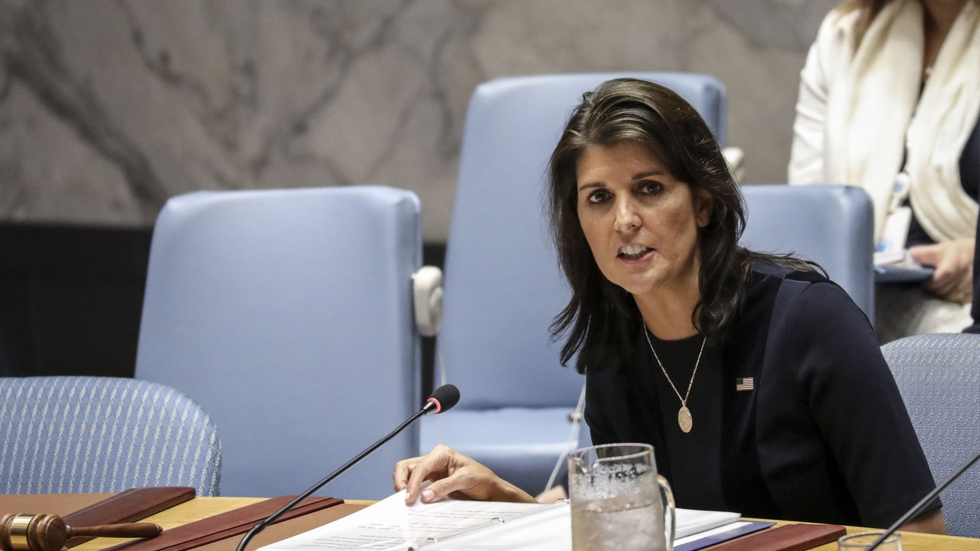 Nikki Haley at UN Security Council
