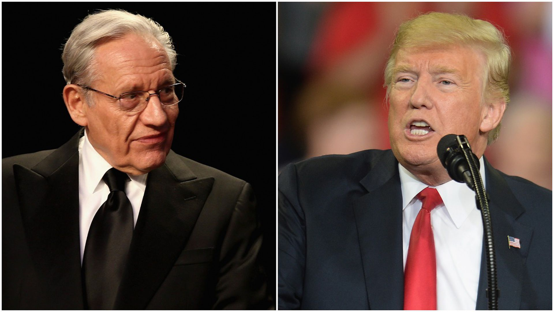 Trump Taps New Special Education Chief >> Trump Responds To Bob Woodward On His New Book Fear Axios