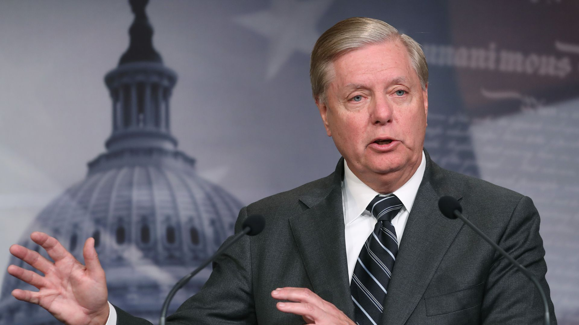 Lindsey Graham says he won't read House deposition transcripts