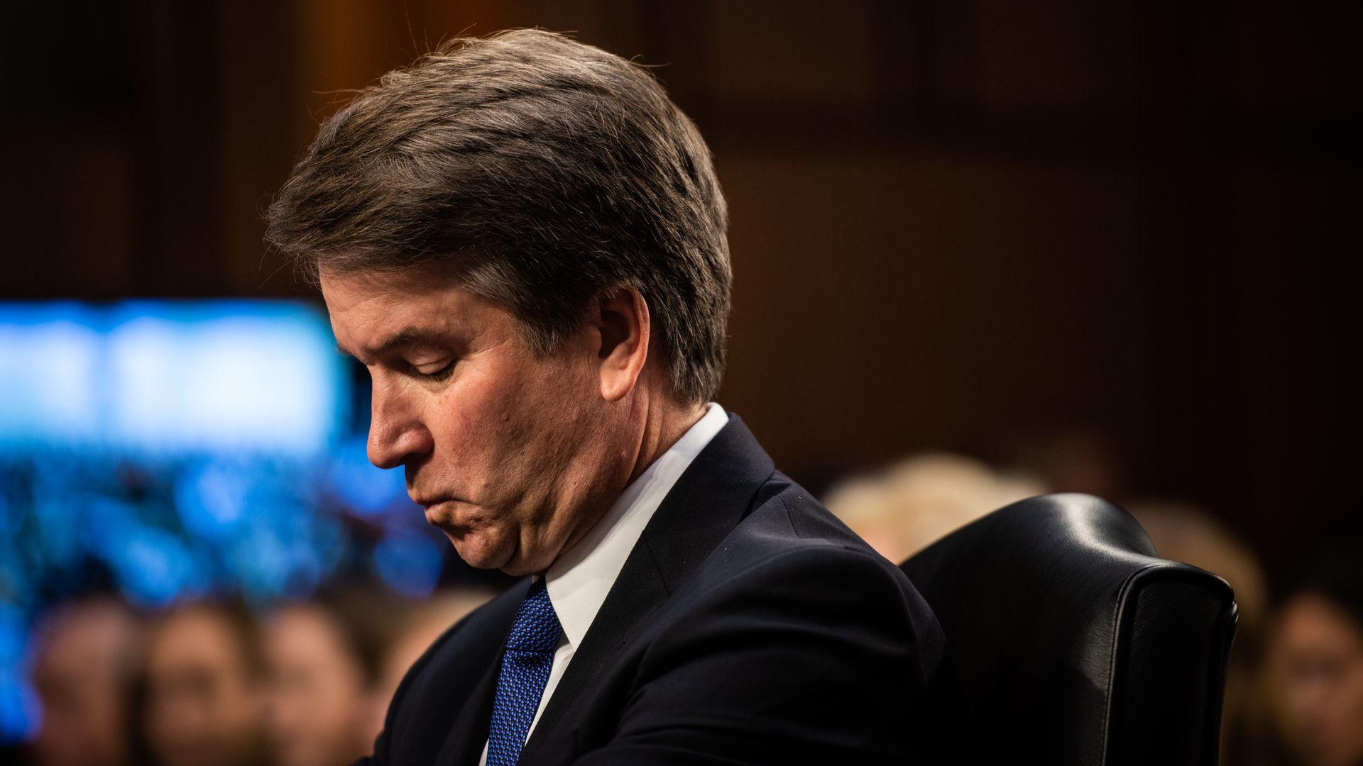 Brett Kavanaugh will no longer teach at Harvard Law School - Axios