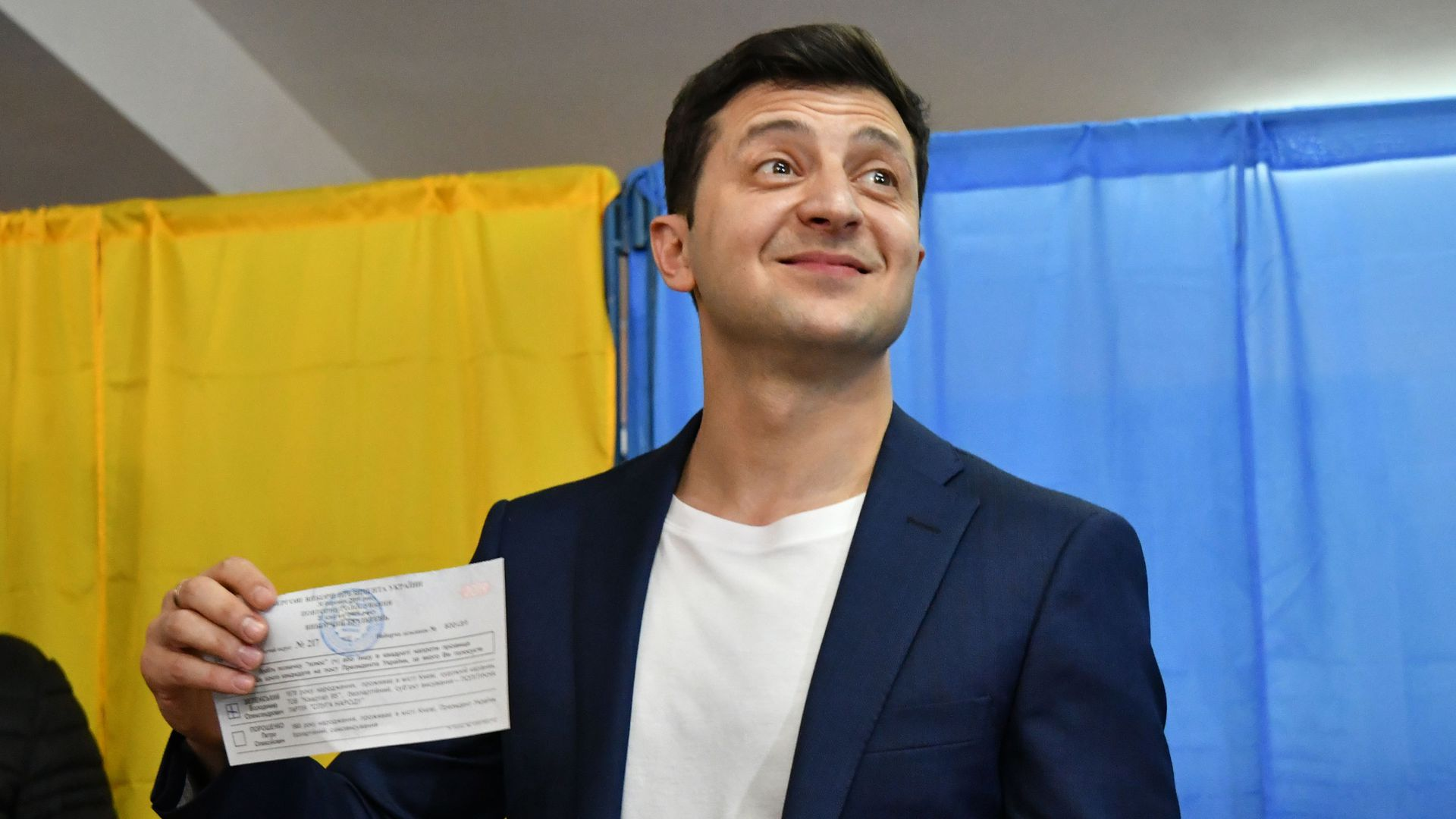 Comedian known for playing president on TV wins Ukrainian election