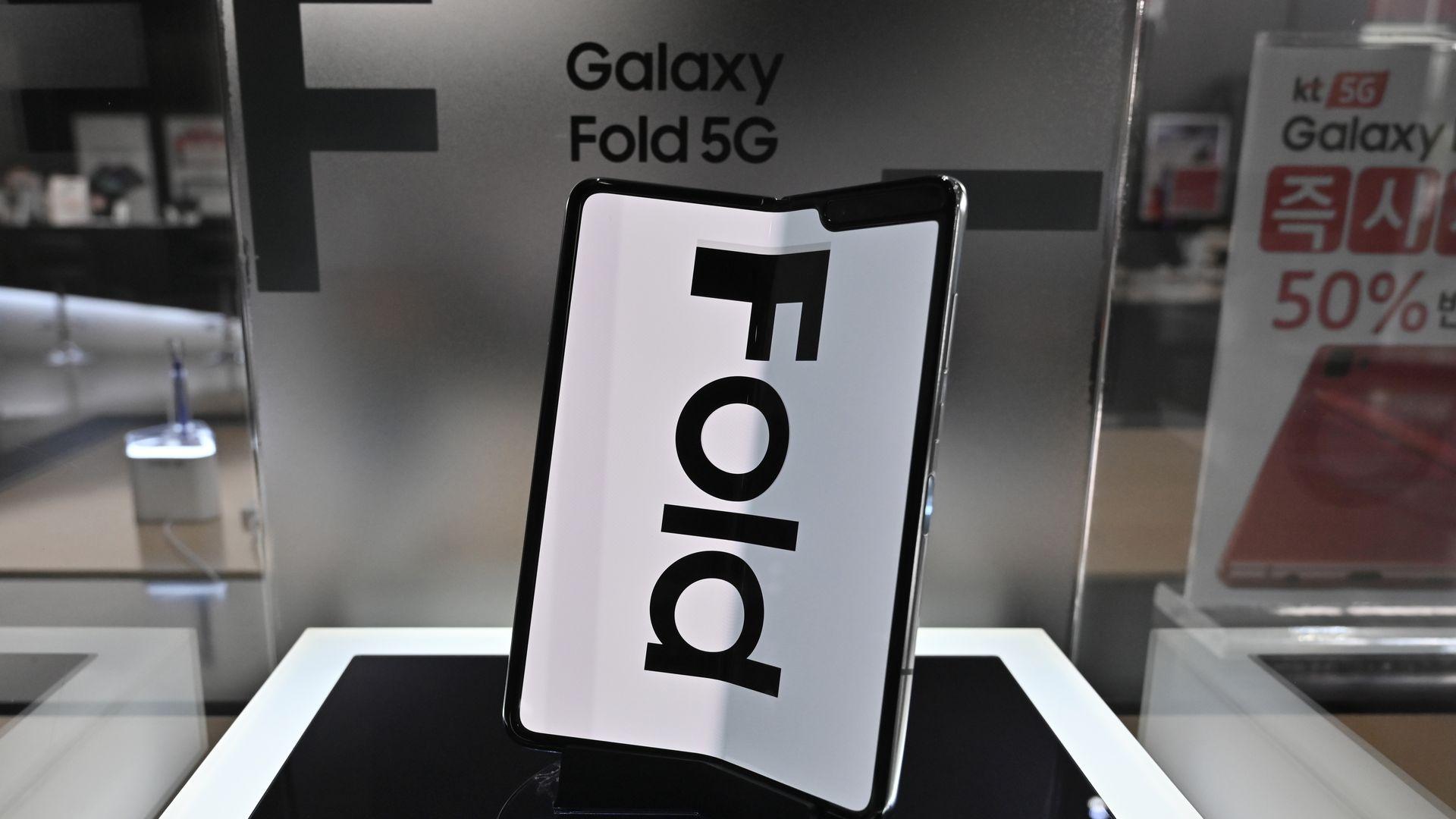 The Samsung Galaxy Fold
