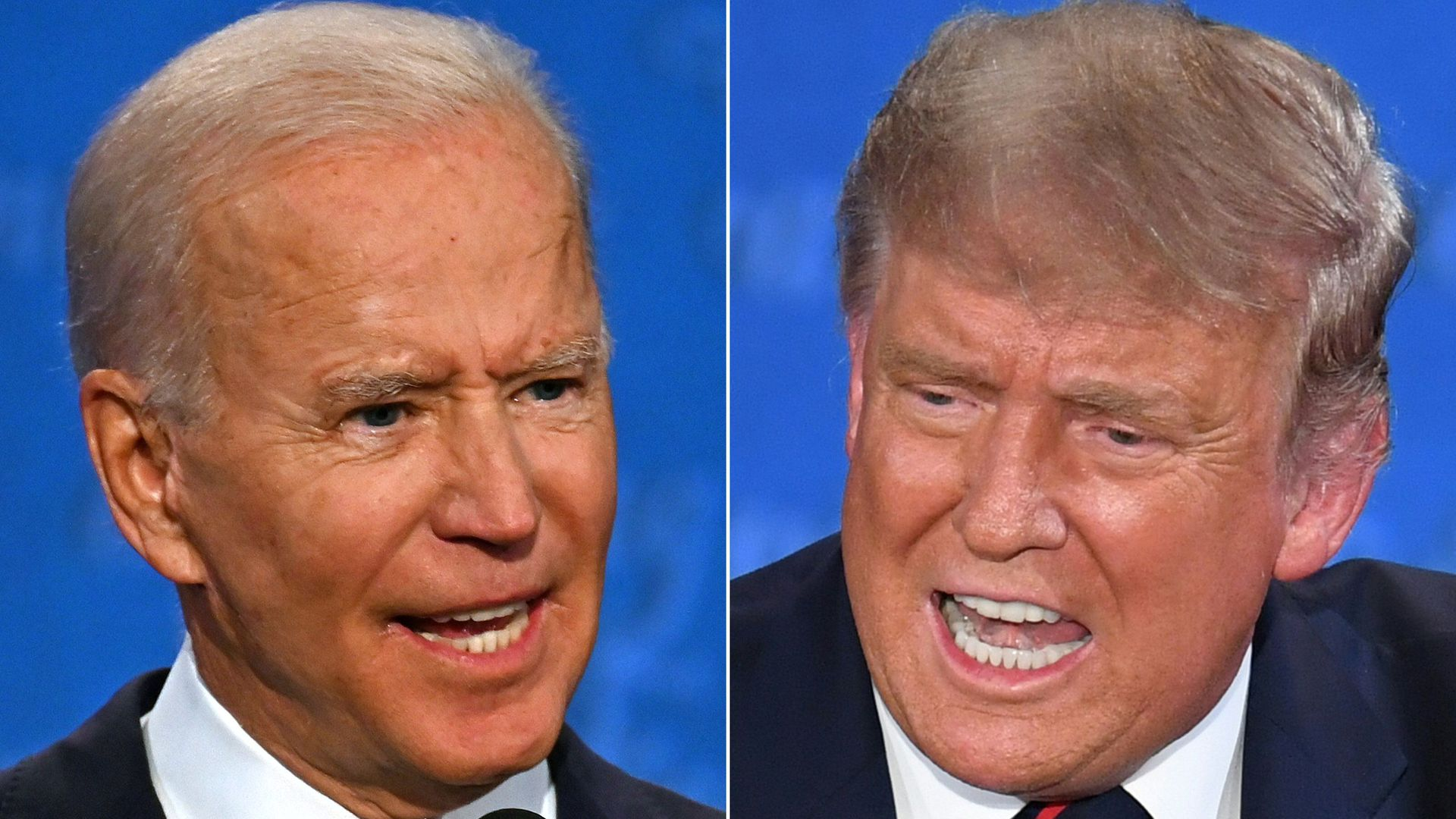 Polls: Biden's lead over Trump extends to double digits with 30 days until  election - Axios