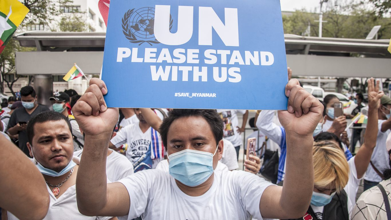 <p>Myanmar Army fires UN ambassador Following anti-coup Address thumbnail