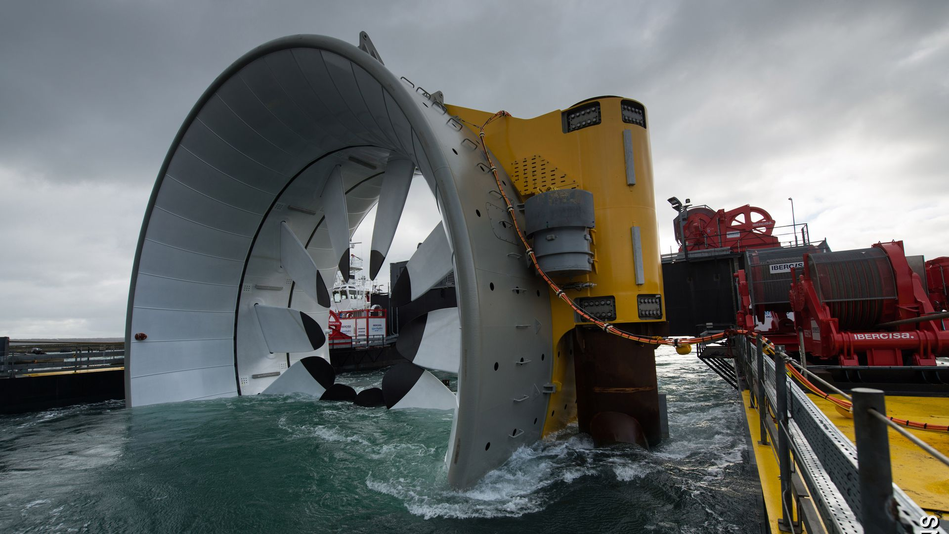 Large tidal energy developer sinks as industry growth disappoints