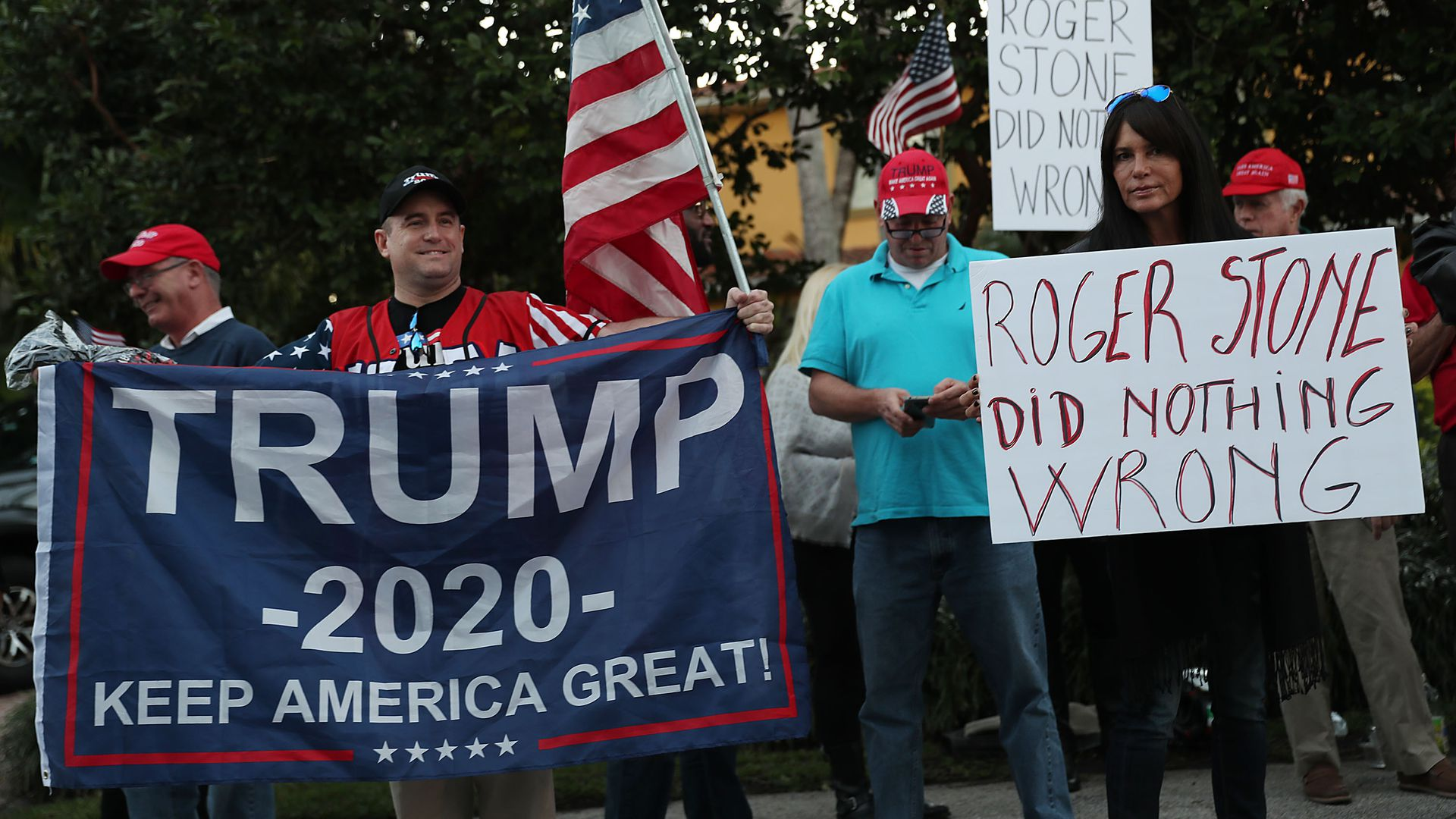 Trump rally for trump 2020
