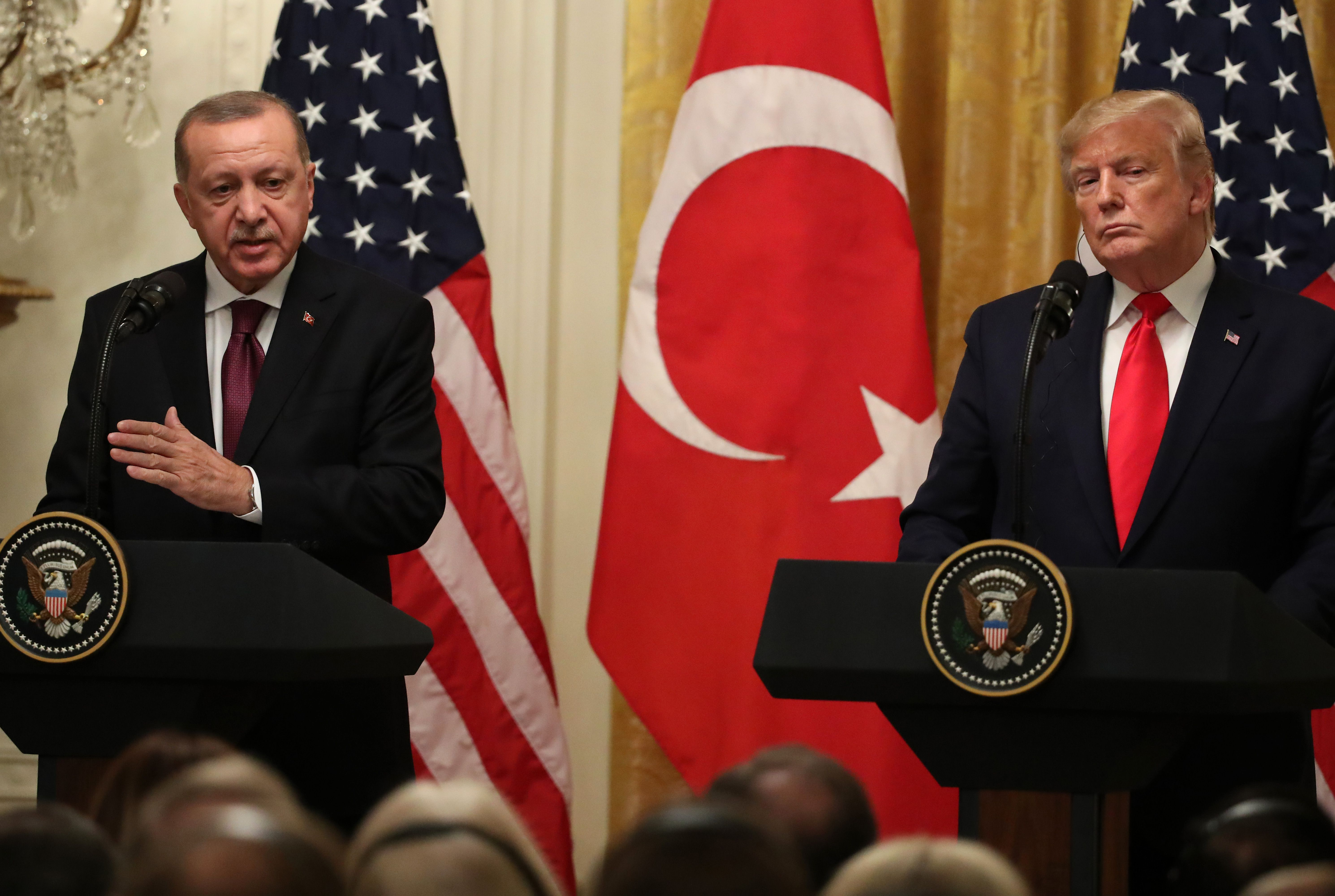 Scoop: Erdogan upends Oval meeting to play anti-Kurd film on iPad - Axios