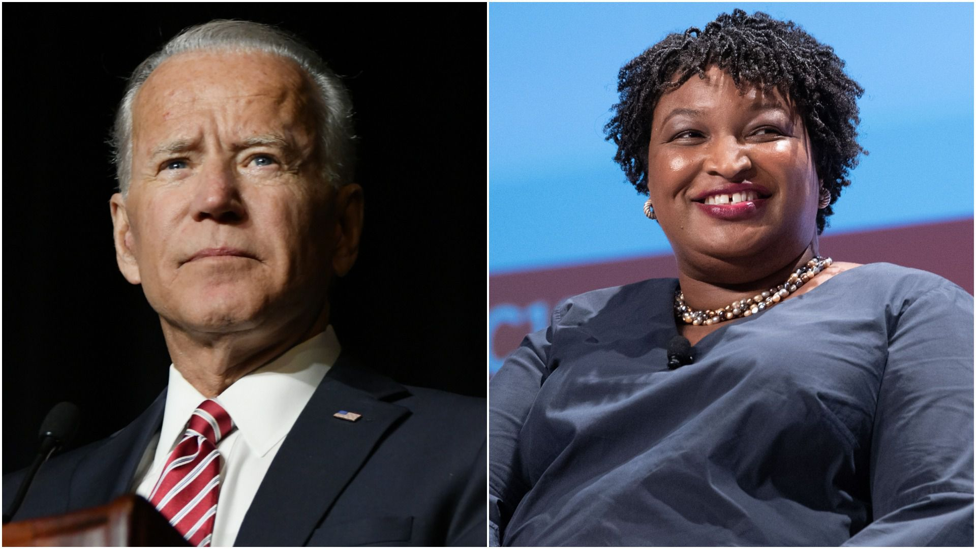 Biden and Abrams will not share a 2020 ticket