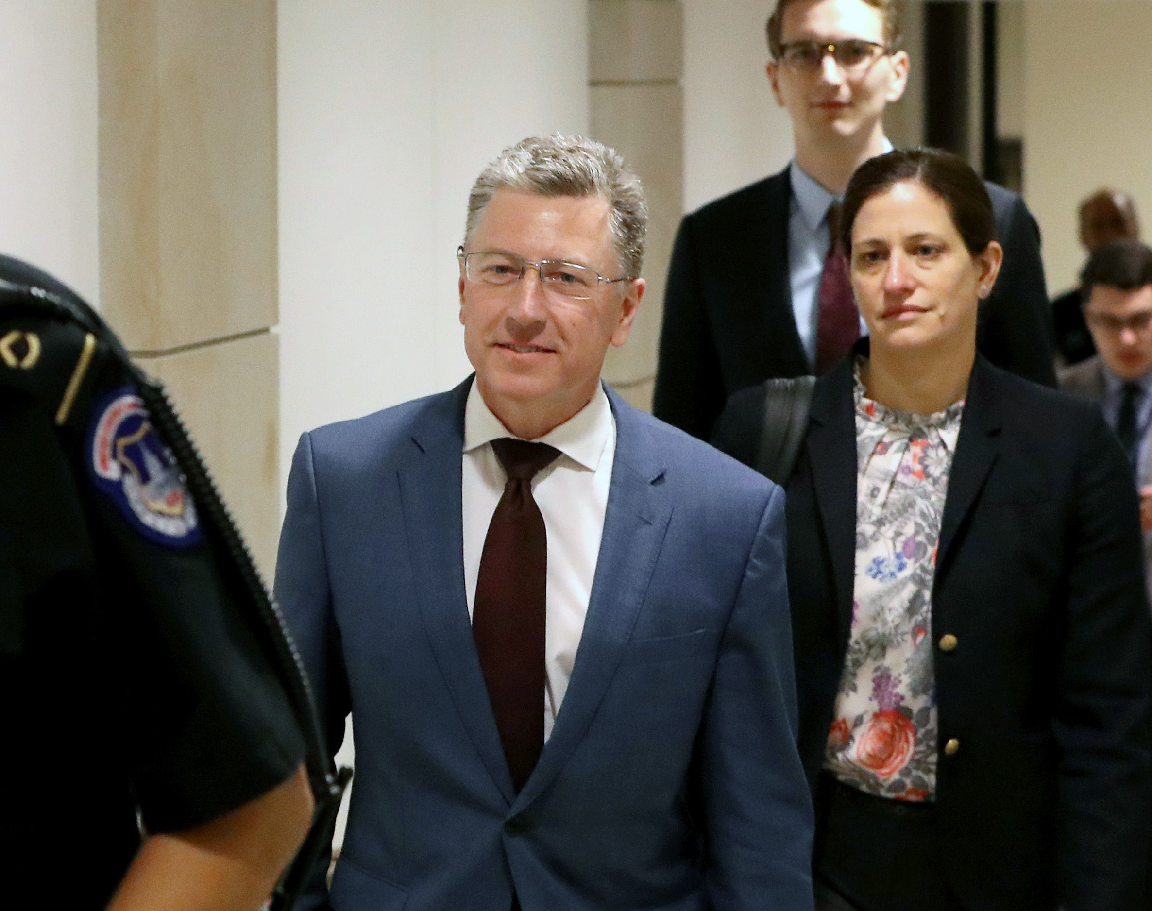 Kurt Volker testimony revealed depth of concerns about Giuliani