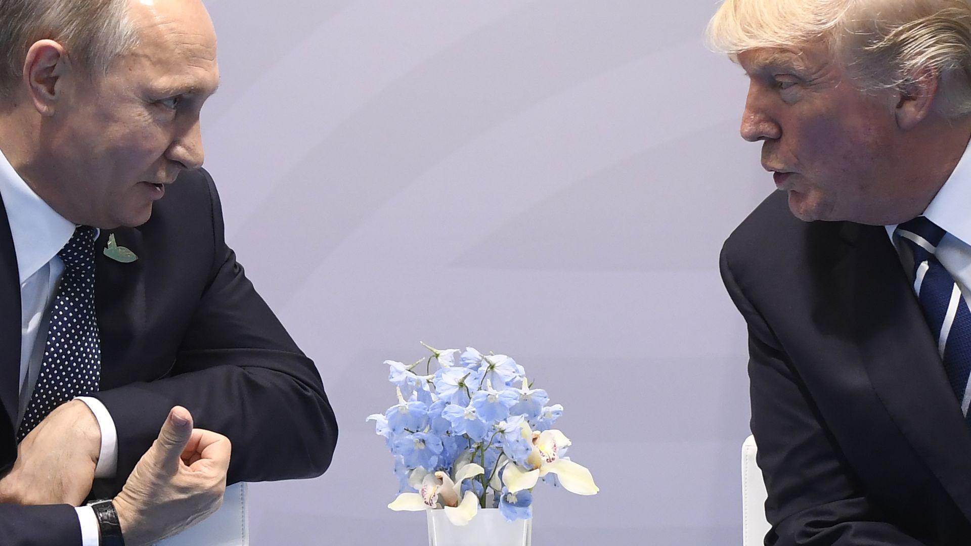 Trump and Putin at the G20 Summit
