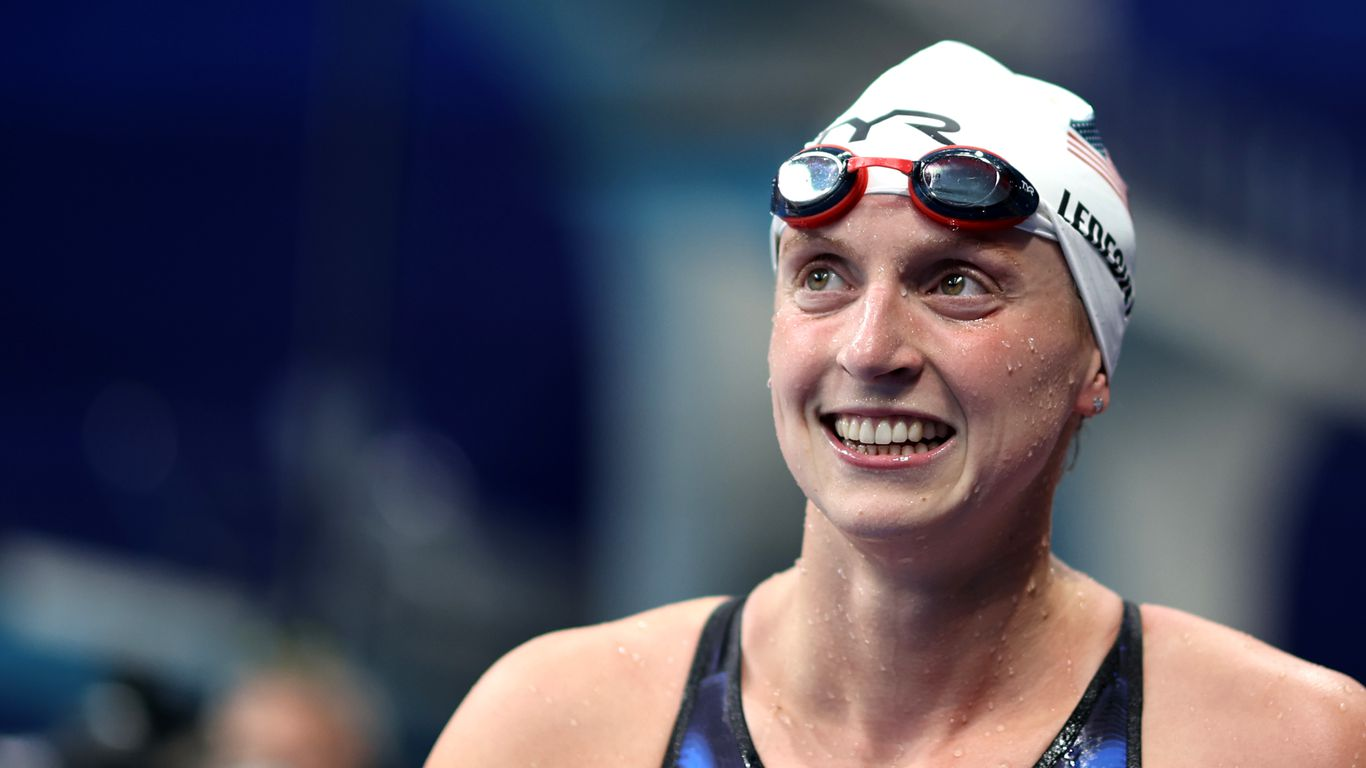 American Katie Ledecky wins Olympic gold in women's 800m freestyle