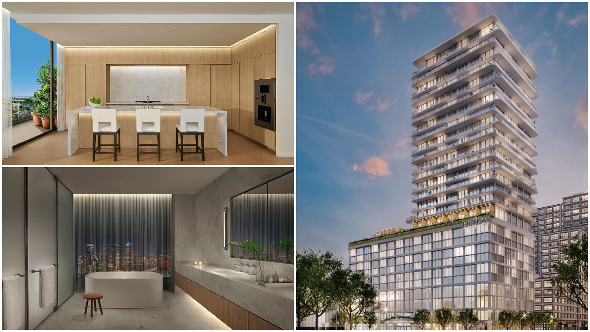 Pictures of the design for the first 5-star hotel in Tampa