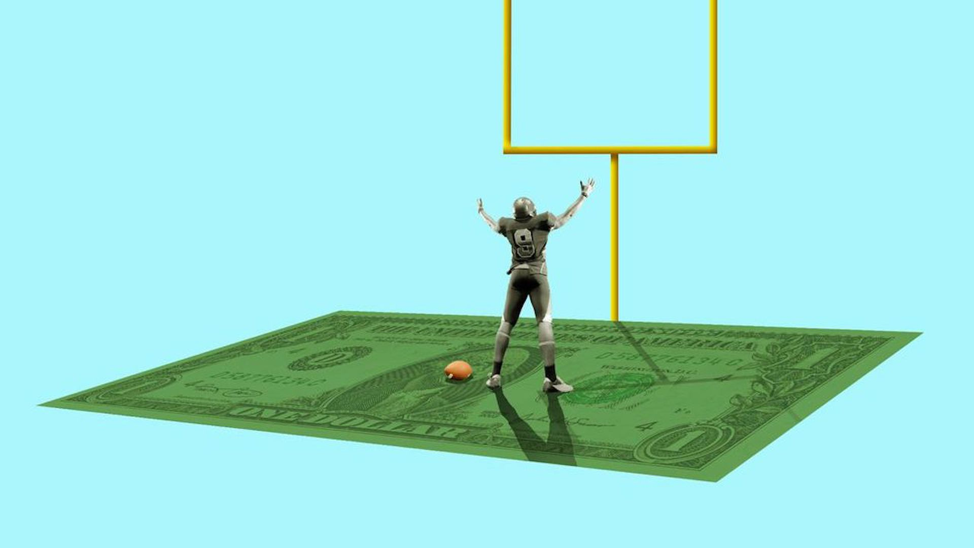 NCAA college sports money
