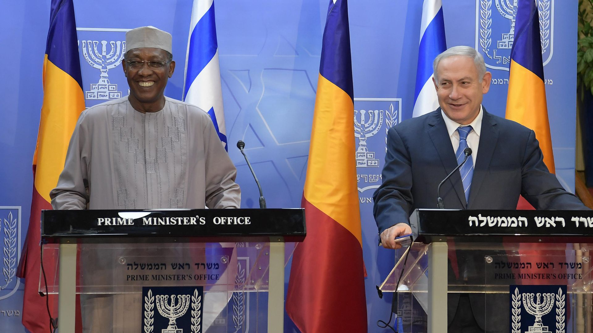 President of Chad made military hardware demand on historic Israel trip