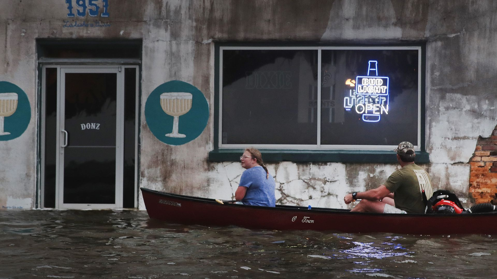 In photos: Storm Barry's impact as it crawls across Louisiana