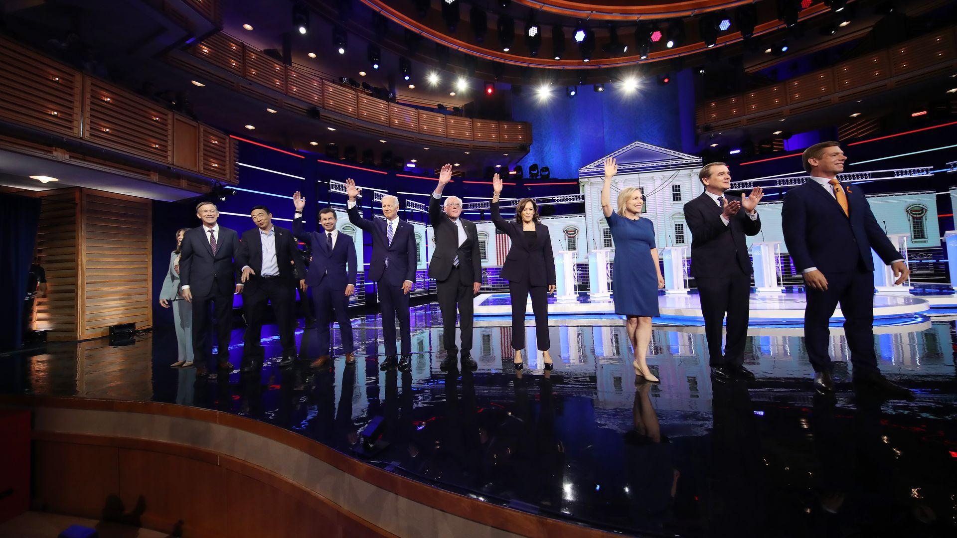 2020 Democratic debates on the second night of debates