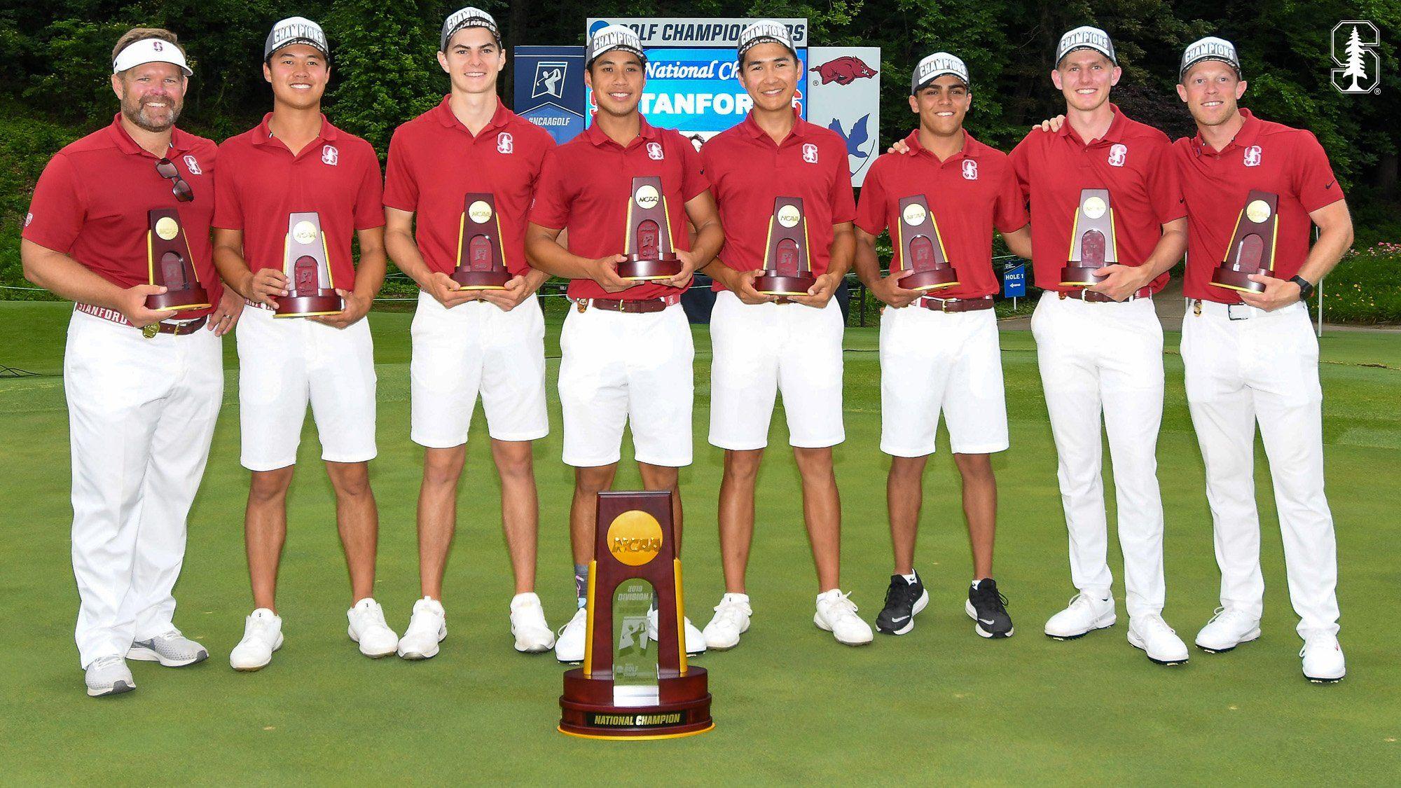 Stanford men's golf team