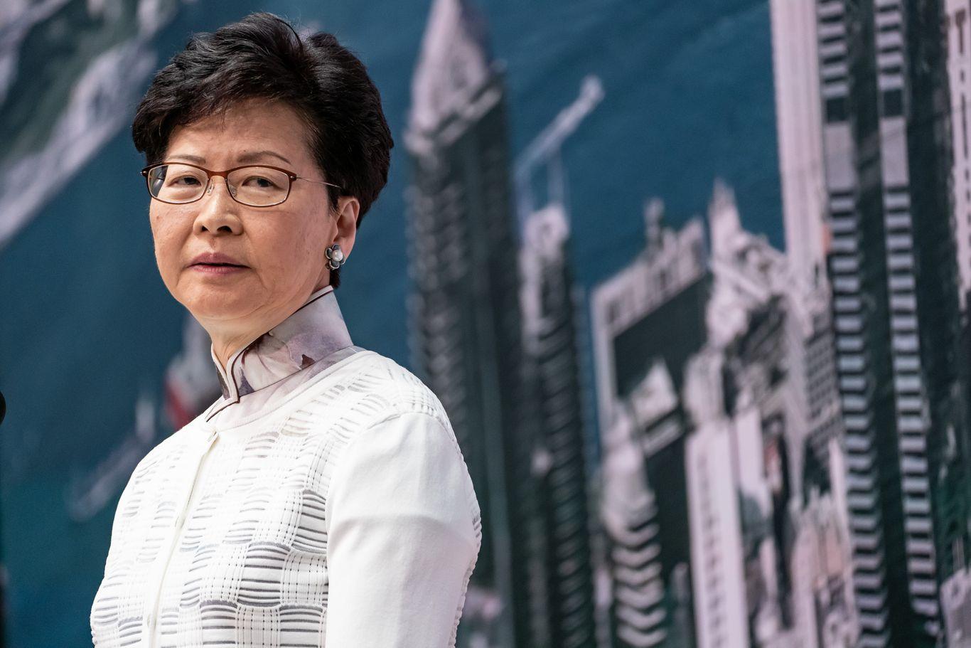 U.S. sanctions Hong Kong leader Carrie Lam