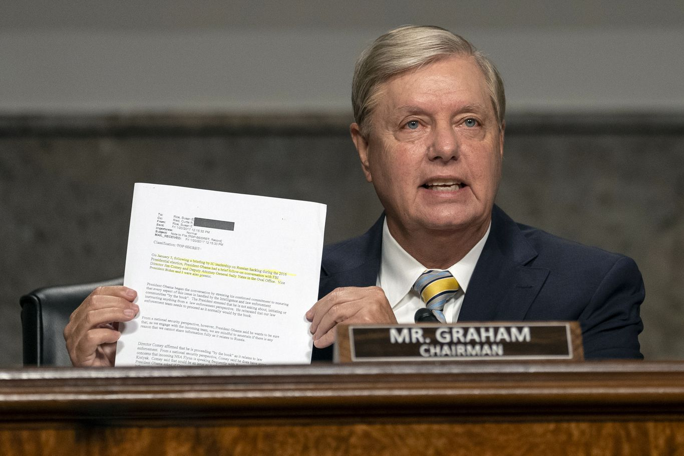 "Lindsey Graham: ""QAnon is bats--t crazy"" thumbnail"