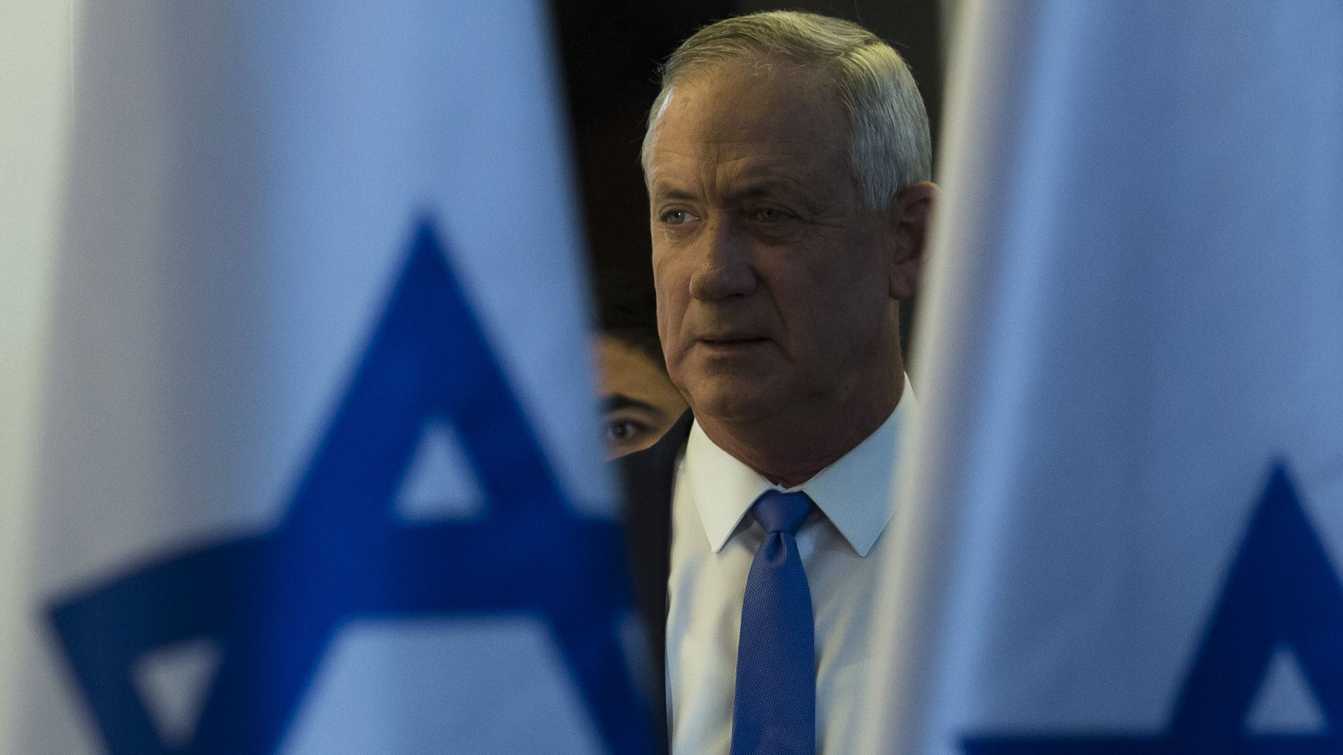 Israel's Netanyahu, Gantz take a break from campaigning to visit the White House