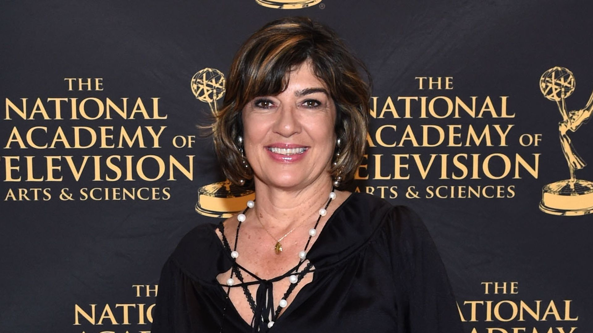 Christiane Amanpour attends the 36th Annual News & Documentary Emmy Awards