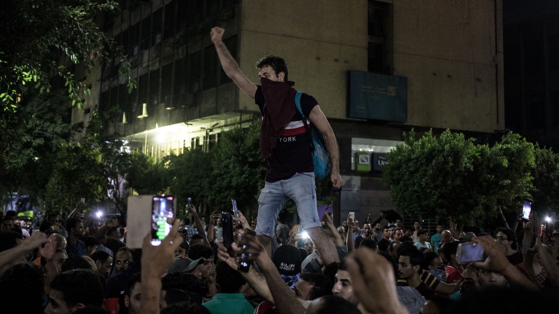 """""""Sisi out"""": Corruption allegations drive protestors to streets of Egypt"""