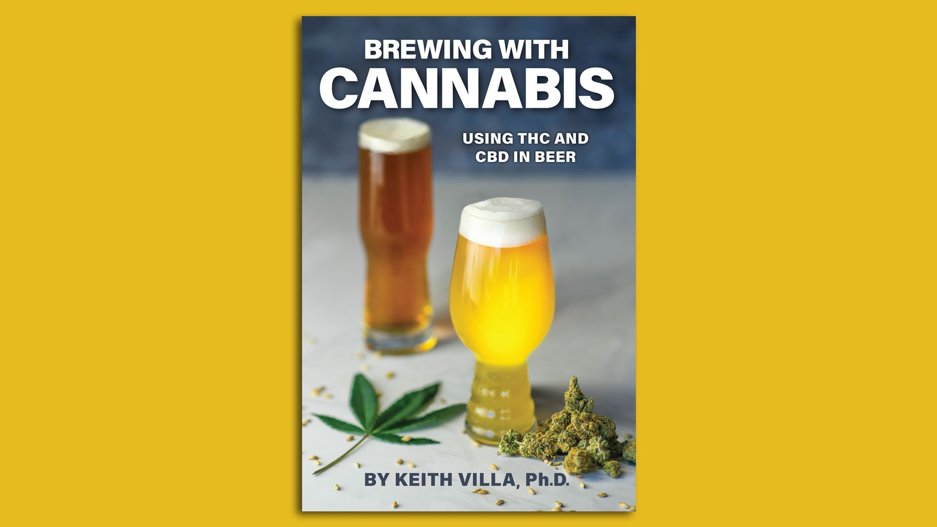 """Cover image of the book """"Brewing with Cannabis"""""""