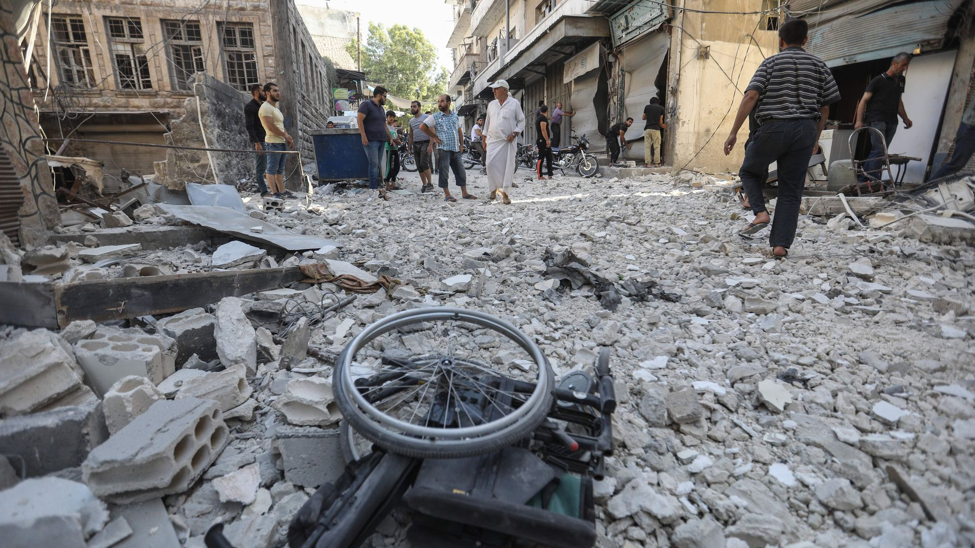 Idlib airstrikes by Russia and Assad test U.S. resolve in Syria