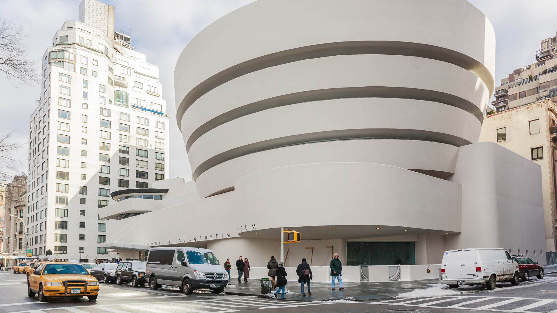 The Solomon R. Guggenheim Museum of modern and contemporary art in New York