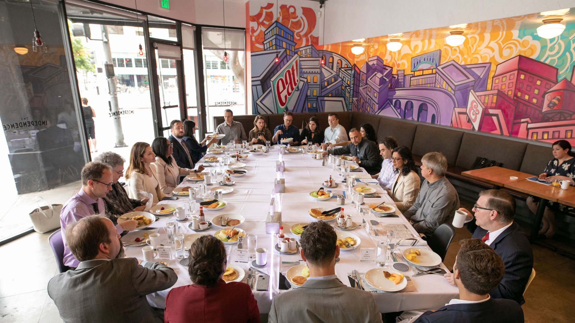 Axios' Dan Primack hosts a roundtable for 25 experts.