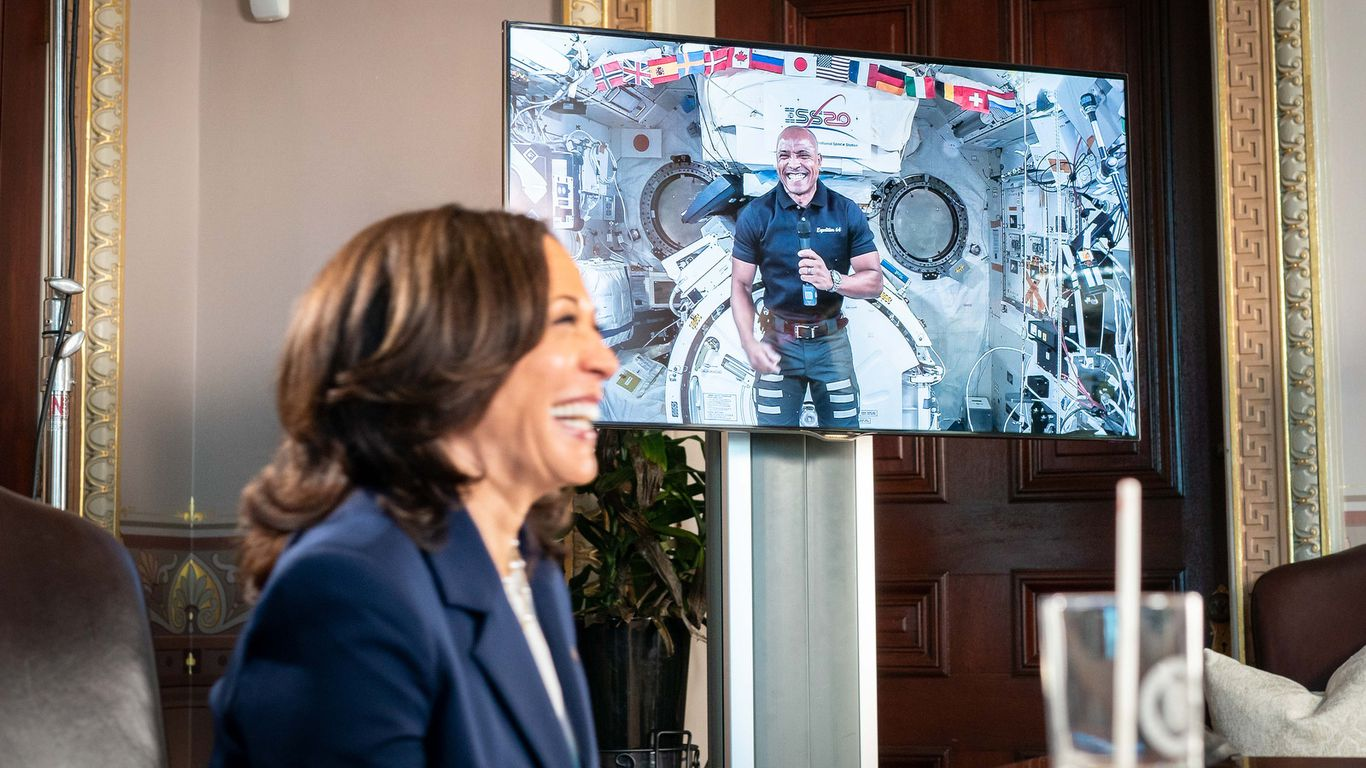Vice President Harris will chair the National Space Council thumbnail