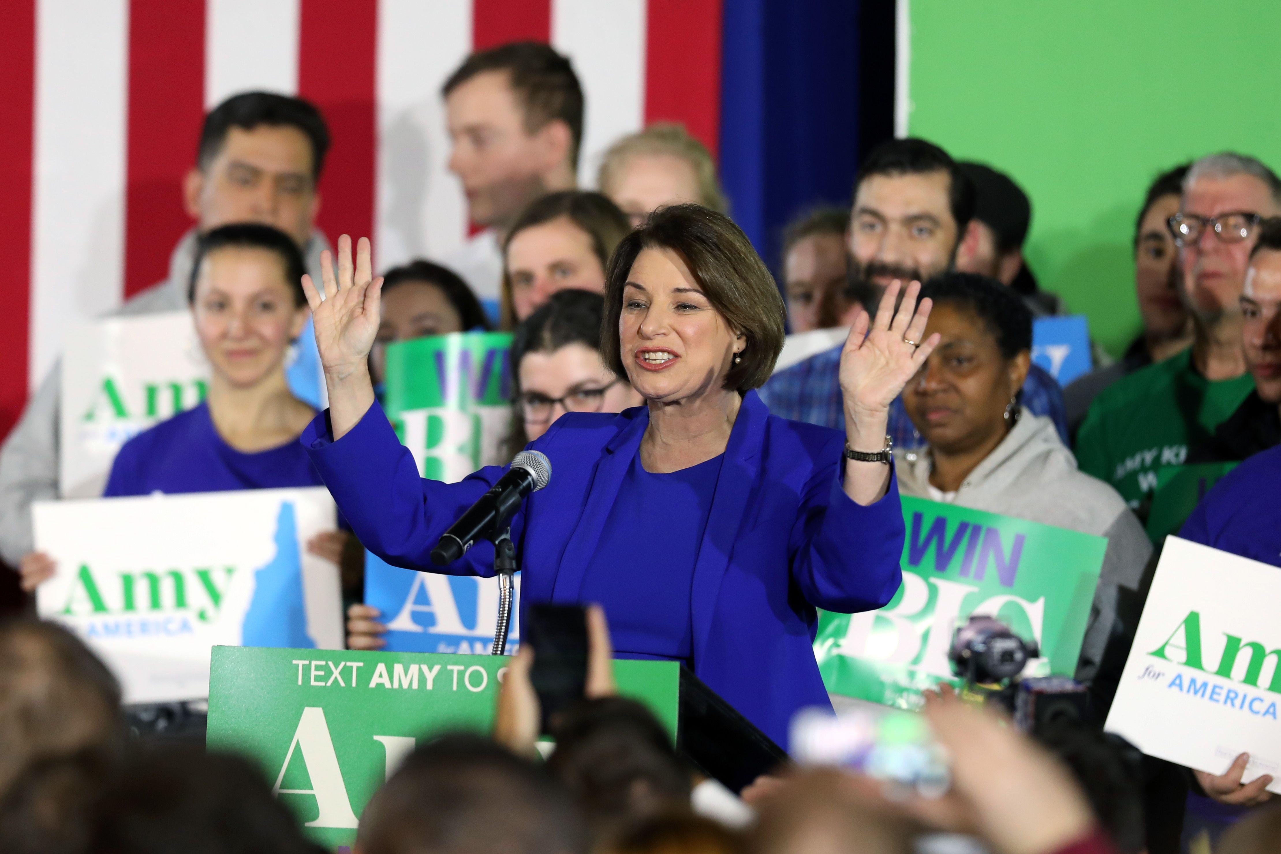 Klobuchar says she has raised $12 million since New Hampshire debate - Axios