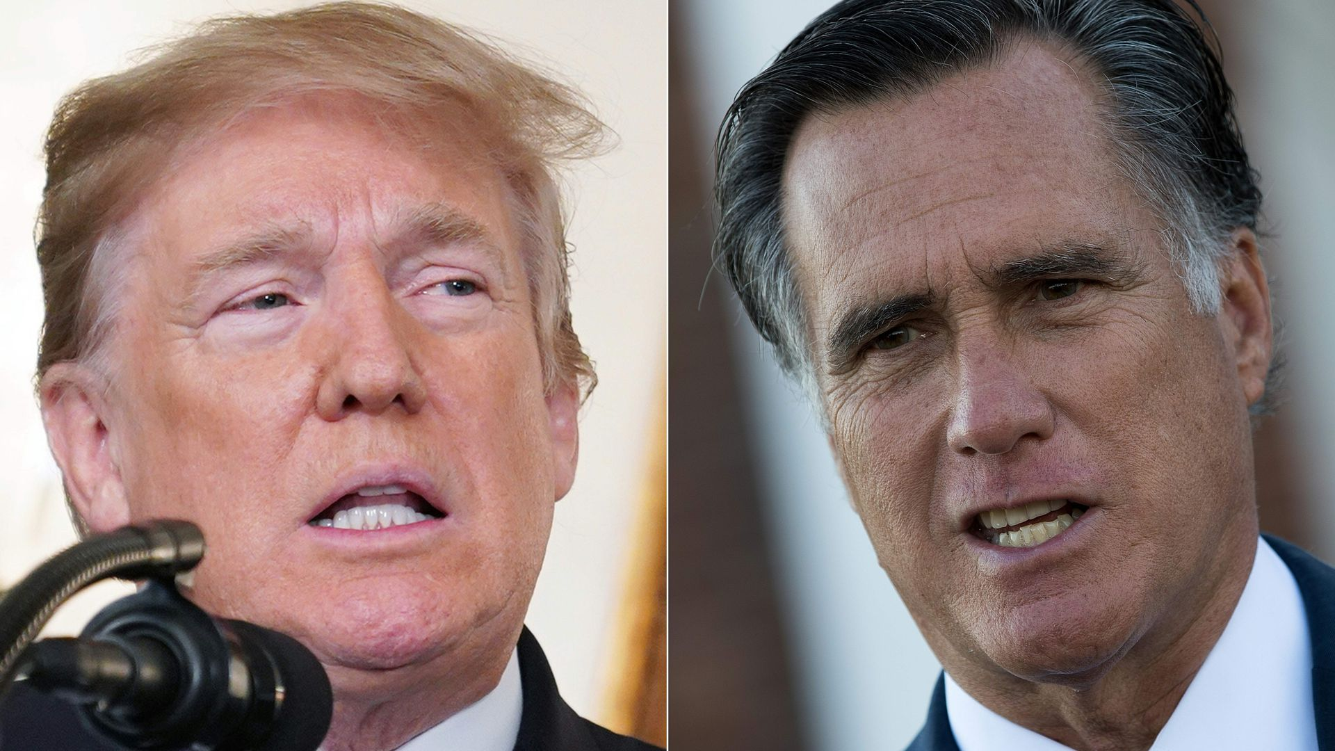 "Mitt Romney: Trump asking China and Ukraine to investigate Biden is ""wrong and appalling"""