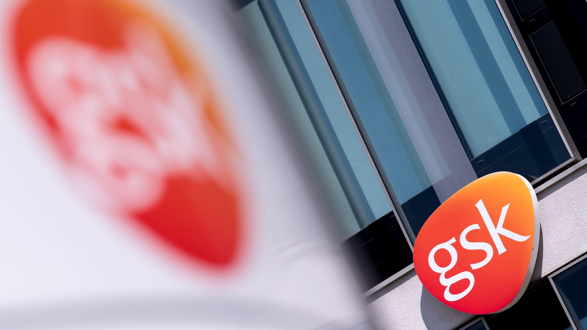 GlaxoSmithKline's office logo.