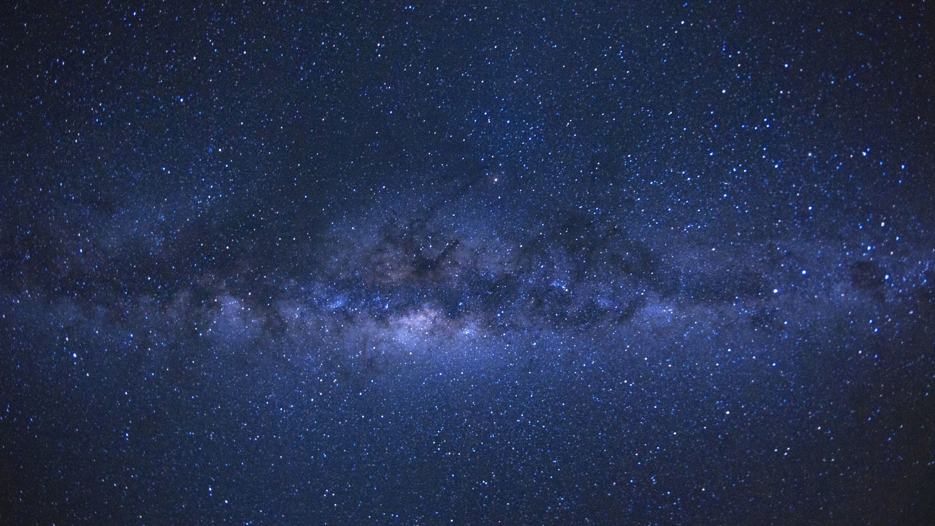 The Milky Way as seen from the French island of Reunion in the Indian Ocean.